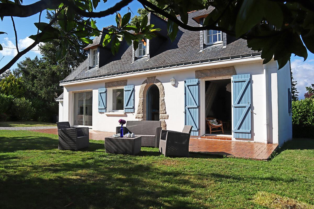 La Villa des Baigneuses à Locmiquel
